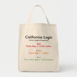 Bolsa Tote Lógica de Califórnia