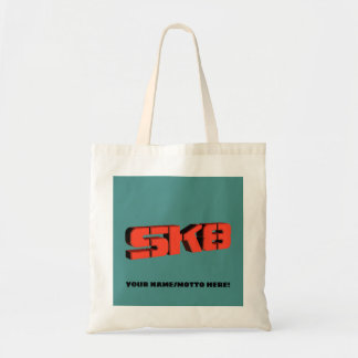 Bolsa Tote Logotipo do skate