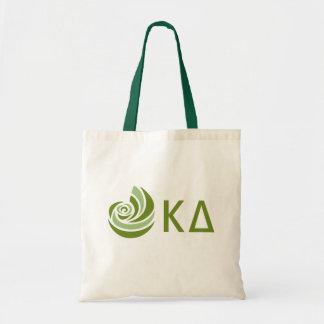 Bolsa Tote Logotipo grande de Lil do delta do Kappa