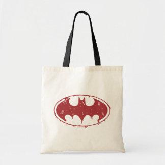 Bolsa Tote Logotipo Oozing do bastão vermelho de Batman |