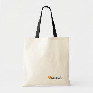 Bolsa Tote Loja com a sacola de Bitcoin BTC