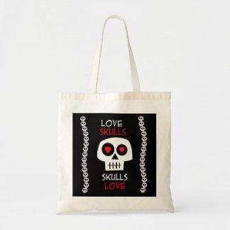 Bolsa Tote Love Skulls