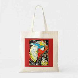 Bolsa Tote Lua da coruja da abóbora