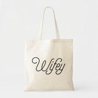 Bolsa Tote Lua de mel de Wifey