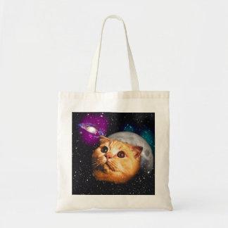 Bolsa Tote lua do gato, gato e lua, catmoon, gato da lua
