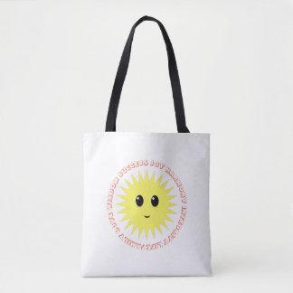 Bolsa Tote Luz do sol bonita