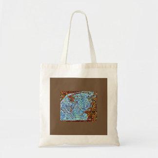 Bolsa Tote Luz - monarca azul