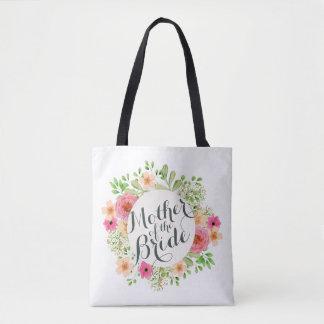 Bolsa Tote Mãe da sacola do casamento da noiva