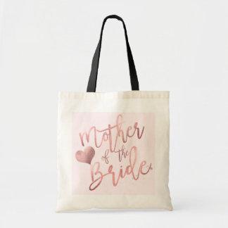 Bolsa Tote Mãe de PixDezines do roteiro cor-de-rosa da