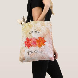 Bolsa Tote Mãe do casamento do hibiscus da sacola do noivo