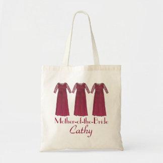 Bolsa Tote Mãe do saco Wedding personalizado noiva do noivo