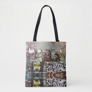 Bolsa Tote Mah Coza, espanha dos grafites, toda sobre -