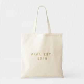 Bolsa Tote Mama EST 2018