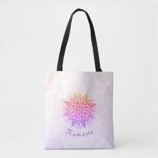 Bolsa Tote Mandala bonito de Namaste