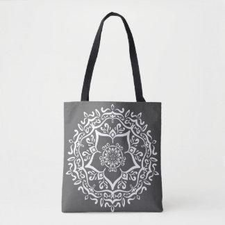 Bolsa Tote Mandala do peixe-boi
