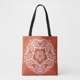 Bolsa Tote Mandala do Terracotta