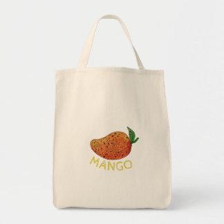 Bolsa Tote Mandala suculenta da fruta da manga