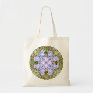 Bolsa Tote Mandala violeta da íris