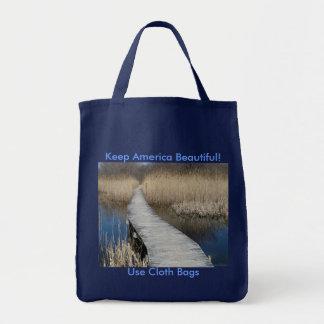 Bolsa Tote Mantenha América bonita