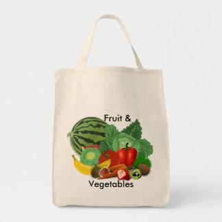 Bolsa Tote Mantimento das frutas e legumes