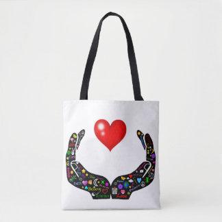 Bolsa Tote Mãos do amor