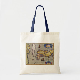 Bolsa Tote Mapa de Japão por Mercator e por Hondius, 1606