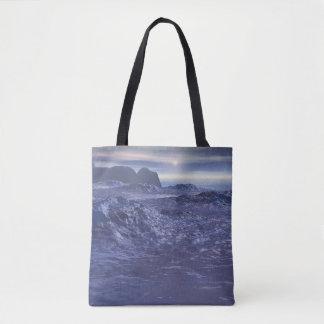 Bolsa Tote Mar congelado de Netuno