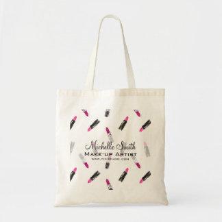 Bolsa Tote Marcagem com ferro quente cor-de-rosa da