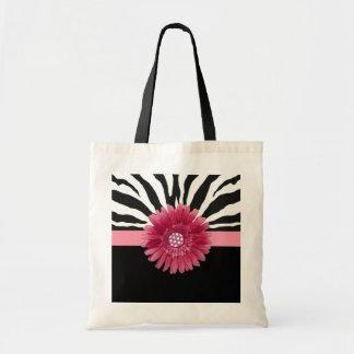 Bolsa Tote Margarida cor-de-rosa 1