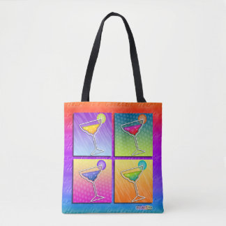 BOLSA TOTE MARGARITAS DO POP ART