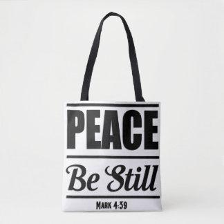 Bolsa Tote Marque a sacola do verso da bíblia do 4:39