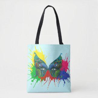 Bolsa Tote Máscara da borboleta