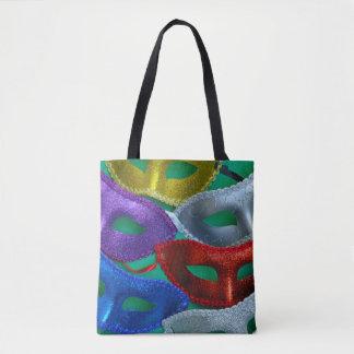Bolsa Tote Máscaras coloridas do brilho