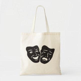 Bolsa Tote Máscaras do teatro do drama da tragédia da comédia