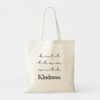 Bolsa Tote Mate-os com a sacola das citações da bondade