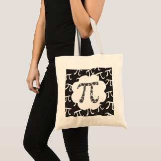 Bolsa Tote Matemática Pi floral
