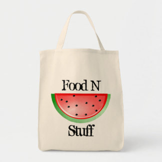 Bolsa Tote Material da comida n, sacola bonito do mantimento