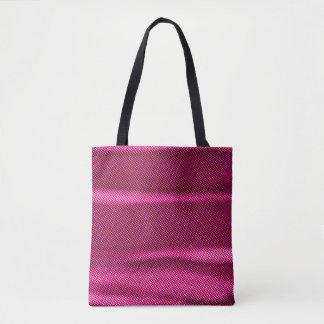 Bolsa Tote matiz enrugado do roxo do efeito
