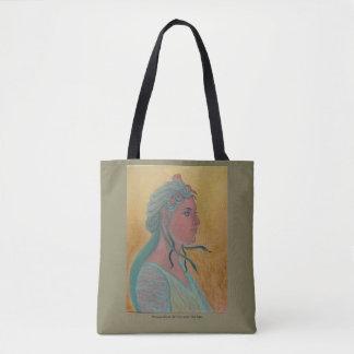 Bolsa Tote Medusa - sacola do estudo do retrato