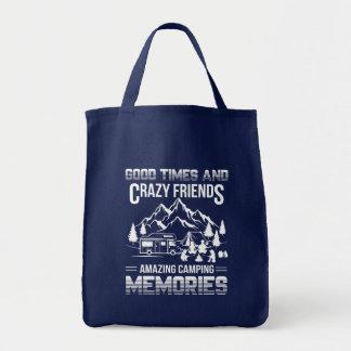 Bolsa Tote Memórias de acampamento do bom amigo louco das