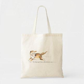 Bolsa Tote Meu cão, Sluggo!