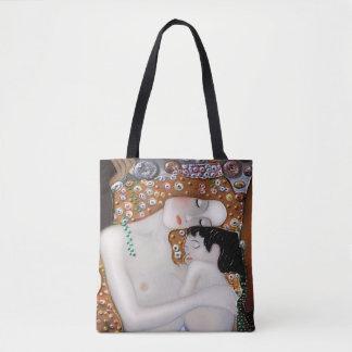 Bolsa Tote Meu Klimt Serie: Mãe & criança