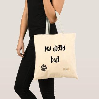 Bolsa Tote Meu saco de Doggy