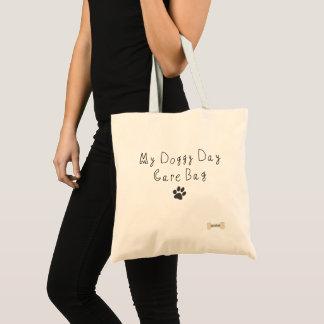 Bolsa Tote Meu saco do centro de dia do Doggy