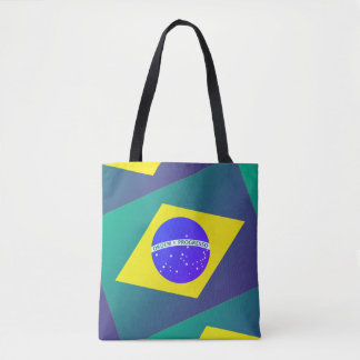 Bolsa Tote Meu saco moderno de Brasil
