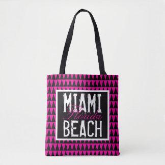 Bolsa Tote Miami Beach Florida PBTF