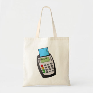 Bolsa Tote Microplaqueta e máquina do Pin