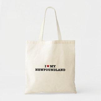 Bolsa Tote Mim coração minha sacola de Terra Nova