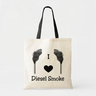Bolsa Tote Mim sacola diesel do fumo do coração