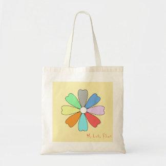 Bolsa Tote Minha sacola afortunada da flor